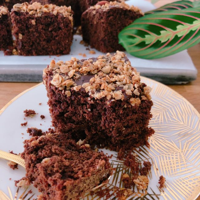 le gâteau healthy au chocolat