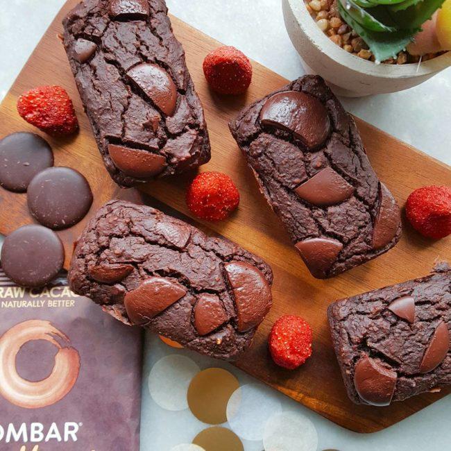 Les mini cakes chocolat et patates douces de Snackies