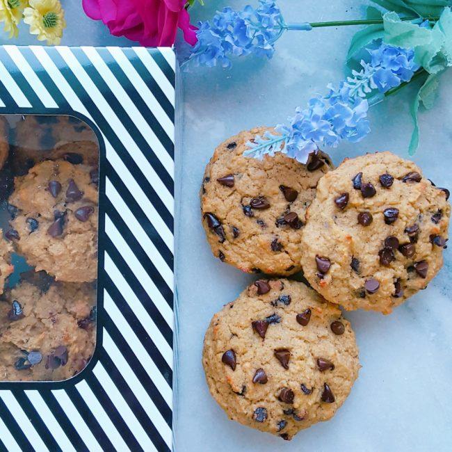 Les fameux cookies aux pois chiches de Snackies
