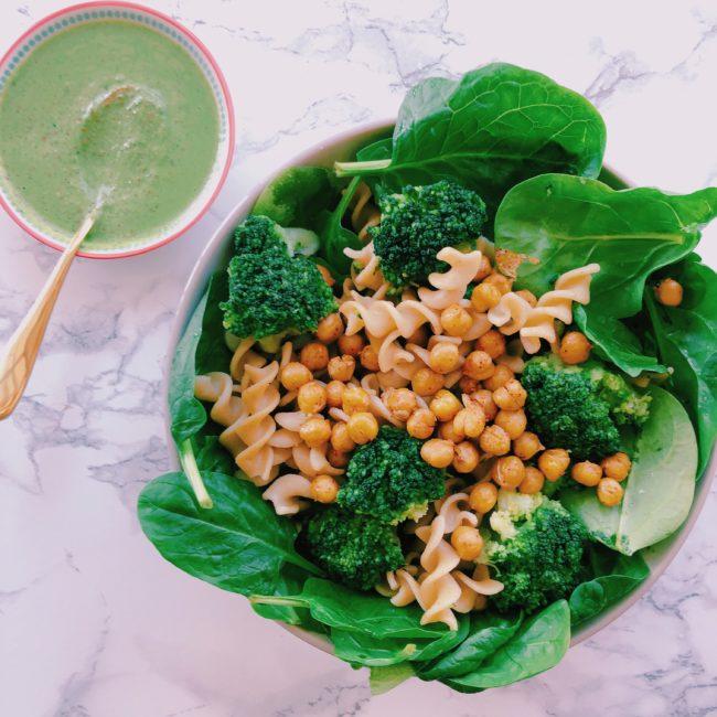 la délicieuse recette de salade